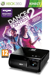 Dance Central beamer pakket